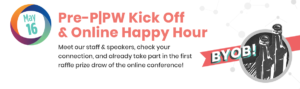 Pre-conference Kick Off and Online Happy Hour