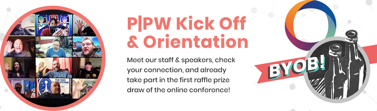 Pre-P|PW Kick Off & Online Happy Hour. BYOB!