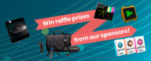 Win raffle prizes from our sponsors