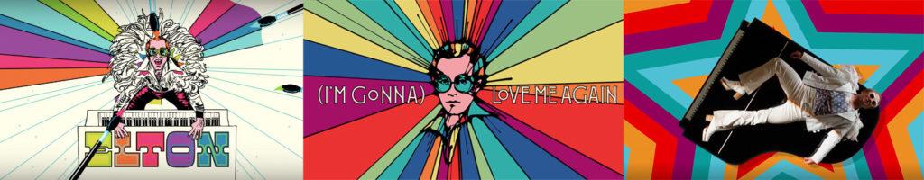 Image stills Elton John - (I'm Gonna) Love Me Again video