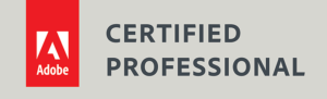Adobe Certified Professional badge